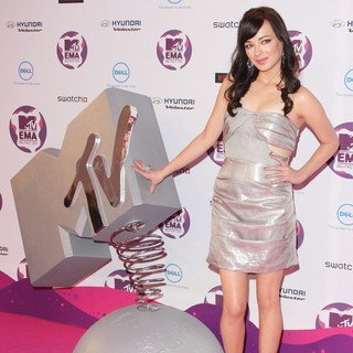 Ashley Rickards in The MTV Europe Music Awards 2011 (EMAs) - Press Room