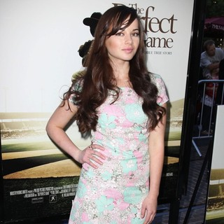 Ashley Rickards in Premiere of The Perfect Game - Arrivals
