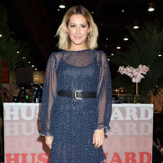 Ashley Tisdale Performs Live During Fashion Go's Opening Night Happy Hour