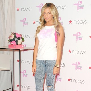 Ashley Tisdale in Ashley Tisdale and Puma Launch Project Pink Initiative to Fight Breast Cancer