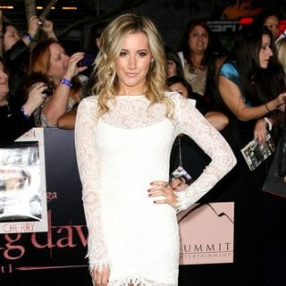 Ashley Tisdale in The Twilight Saga's Breaking Dawn Part I World Premiere