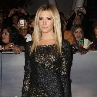 Ashley Tisdale in The Premiere of The Twilight Saga's Breaking Dawn Part II