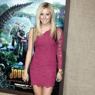 Ashley Tisdale in The Los Angeles Premiere of Journey 2: The Mysterious Island - Arrivals