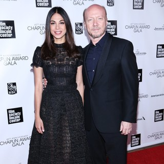 Moran Atias, Paul Haggis in 40th Anniversary Chaplin Award Gala Honoring Barbra Streisand