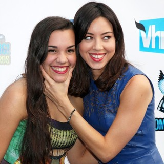 Aubrey Plaza in The DoSomething.org and VH1's 2012 Do Something Awards