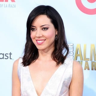 Aubrey Plaza in 2012 NCLR ALMA Awards - Arrivals