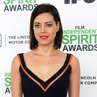 Aubrey Plaza in The 2014 Film Independent Spirit Awards - Arrivals