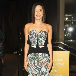 Aubrey Plaza in The 28th Annual Imagen Awards 2013 - Arrivals