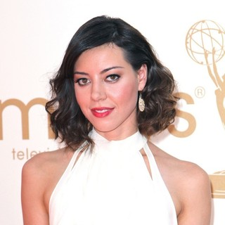 Aubrey Plaza in The 63rd Primetime Emmy Awards - Arrivals