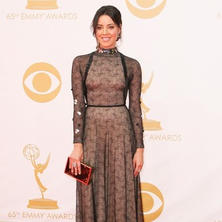 Aubrey Plaza in 65th Annual Primetime Emmy Awards - Arrivals