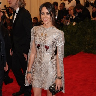 Aubrey Plaza in PUNK: Chaos to Couture Costume Institute Gala