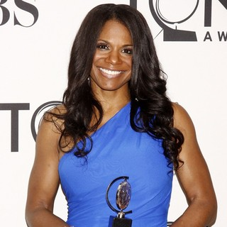 Audra McDonald in The 66th Annual Tony Awards - Press Room