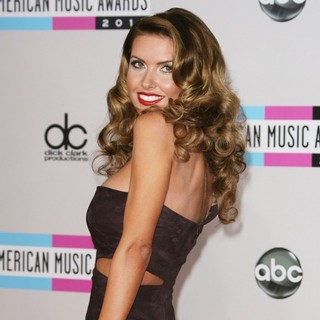 Audrina Patridge in 2011 American Music Awards - Arrivals