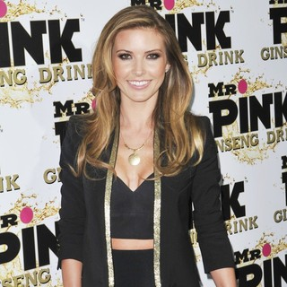 Audrina Patridge in Mr. Pink's Ginseng Energy Drink Launch - Arrivals