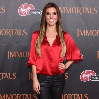 Audrina Patridge in Immortals 3D Los Angeles Premiere