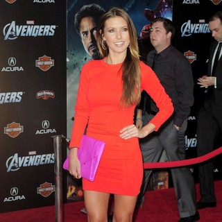 Audrina Patridge in World Premiere of The Avengers - Arrivals