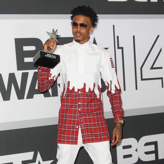 August Alsina - The 2014 BET Awards - Press Room