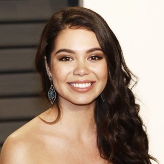Auli'i Cravalho in 2017 Vanity Fair Oscar Party - Arrivals