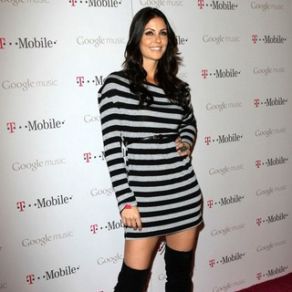 Summer Altice in Celebrity Magenta Carpet Arrivals at The Launch Party for Google Music Available on T-Mobile