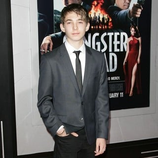 Austin Abrams in The Los Angeles World Premiere of Gangster Squad - Arrivals