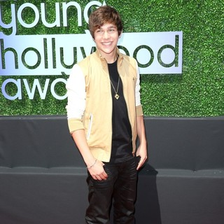 Austin Mahone in 2013 Young Hollywood Awards - Red Carpet
