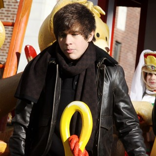 Austin Mahone in 87th Macy's Thanksgiving Day Parade