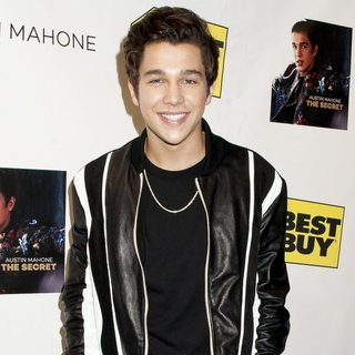 Austin Mahone in Austin Mahone Celebrates The Release of His Debut EP The Secret