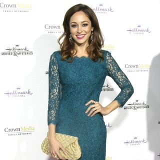 Autumn Reeser in Hallmark TCA Winter 2015 Party