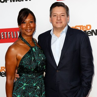 Nicole Avant, Ted Sarandos in Netflix's Los Angeles Premiere of Season 4 of Arrested Development