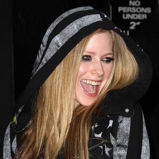 Avril Lavigne in JustFabulous and Abbey Dawn by Avril Lavigne Partnership Launch Party