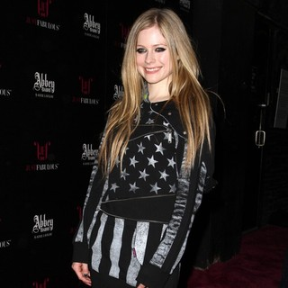 Avril Lavigne - JustFabulous and Abbey Dawn by Avril Lavigne Partnership Launch Party