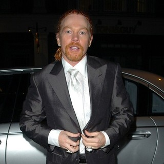 Axl Rose Outside Cipriani Restaurant