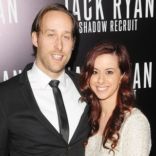 Seth Ayott, Brianna Reynolds in Los Angeles Premiere of Jack Ryan: Shadow Recruit - Red Carpet Arrivals