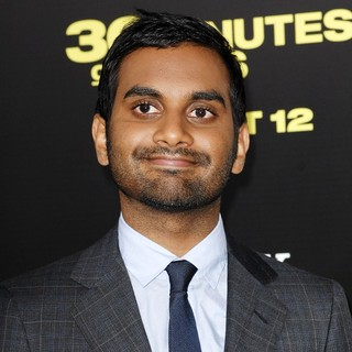 Aziz Ansari in Los Angeles Premiere of 30 Minutes or Less