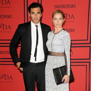 Yigal Azrouel, Teresa Palmer in 2013 CFDA Awards - Arrivals