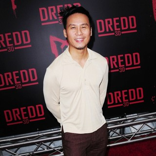 B.D. Wong in Dredd New York Screening