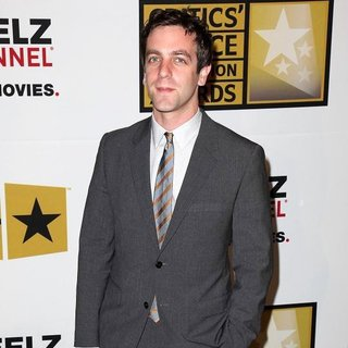 B.J. Novak in The 2011 Critics Choice Television Awards Luncheon - Red Carpet