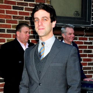 B.J. Novak in The Late Show with David Letterman - Arrivals