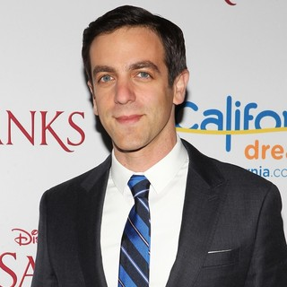 B.J. Novak in Saving Mr. Banks Los Angeles Premiere