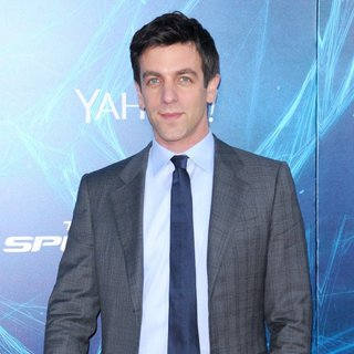 New York Premiere of The Amazing Spider-Man 2 - Red Carpet Arrivals - b-j-novak-premiere-the-amazing-spiderman-2-01