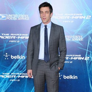 New York Premiere of The Amazing Spider-Man 2 - Red Carpet Arrivals - b-j-novak-premiere-the-amazing-spiderman-2-02