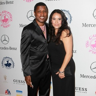 Babyface, Nicole Pantenburg in 26th Anniversary Carousel of Hope Ball - Presented by Mercedes-Benz - Arrivals