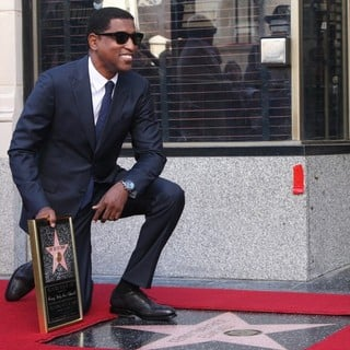 Babyface in Babyface Honored with A Walk of Fame Star Ceremony