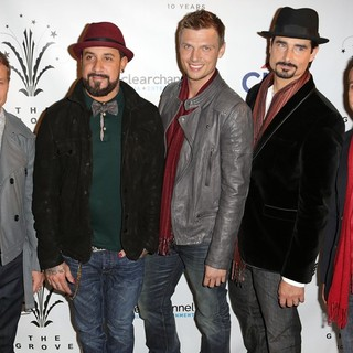 Backstreet Boys in MagicSnow 10th Annual Hollywood Christmas Celebration