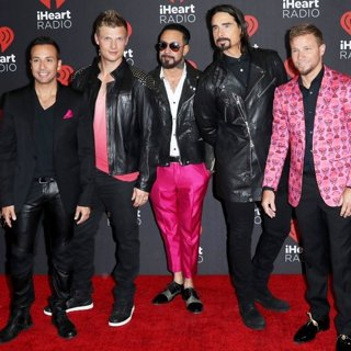 Backstreet Boys-2016 iHeartRadio Music Festival - Arrivals
