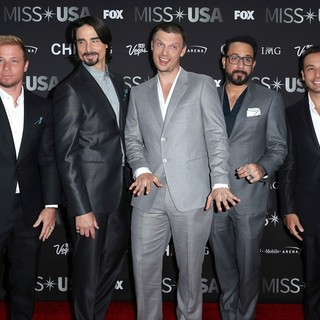 Backstreet Boys in 2016 Miss USA - Red Carpet
