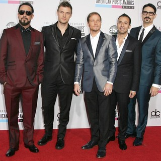Backstreet Boys in The 40th Anniversary American Music Awards - Arrivals