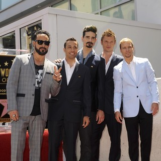 Backstreet Boys Are Honoured with A Hollywood Star on The Hollywood Walk of Fame
