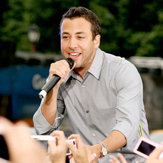 Howie Dorough, Backstreet Boys in Backstreet Boys performing live on CBS' 'Early Show' as part of the Summer Concert Series
