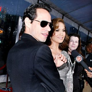 Marc Anthony, Jennifer Lopez in Los Angeles Premiere of 'The Back-Up Plan'